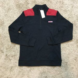 Vineyard Vines Women Black Red Pullover Size Small